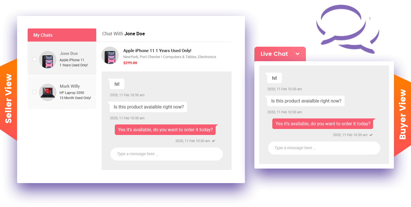 Live-Chat-Seller-Buyer